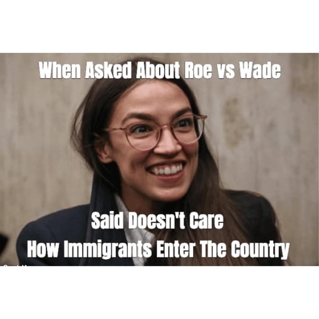 AoC meme - Roe Vs Wade