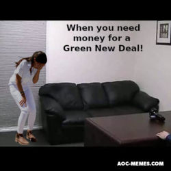 AoC New green deal porn