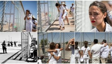 AoC faking anguish at detention center