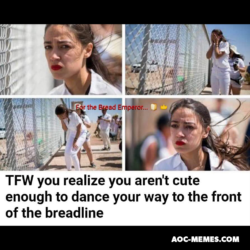 AoC meme dance to the front of the breadline