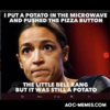 AOC potato meme