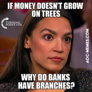AoC thinks money grows on trees